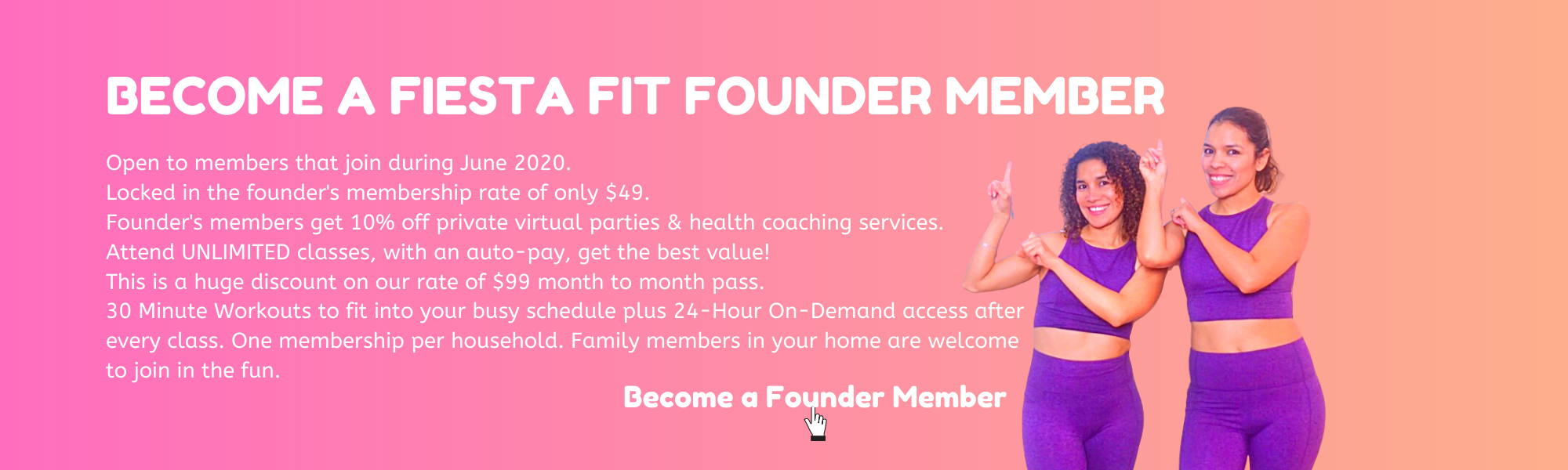 Fiesta Fit Founder's Membership