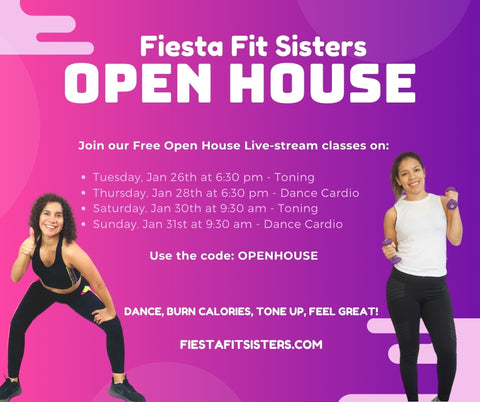 Open House Livestream fitness classes