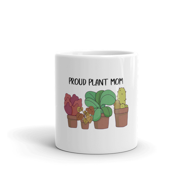 Proud Plants Mom - Mug - House of BeYouTee