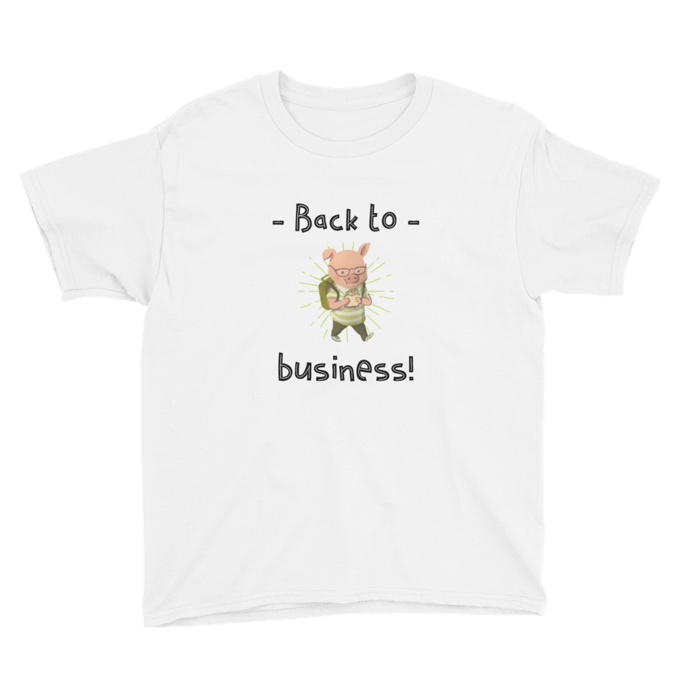 Back To Business Kid T-shirt - House of BeYouTee