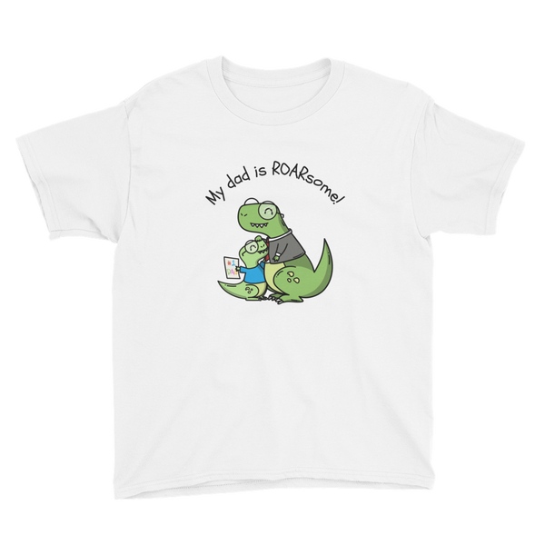 My Dad Is Roarsome Kid T-shirt - House of BeYouTee