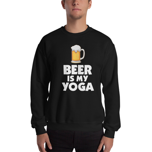 Beer Is My Yoga - Sweat-Shirt - House of BeYouTee