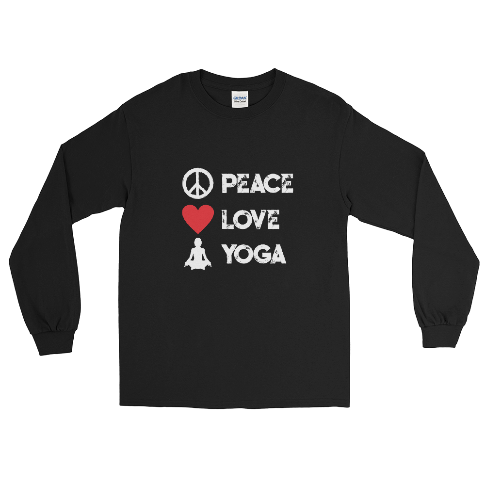 Peace Love Yoga T-Shirt - House of BeYouTee