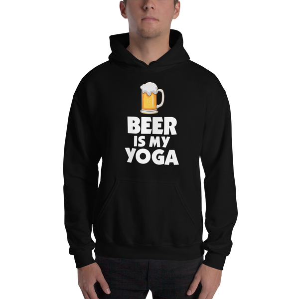 Beer Is My Yoga Unisex Hoodie - House of BeYouTee