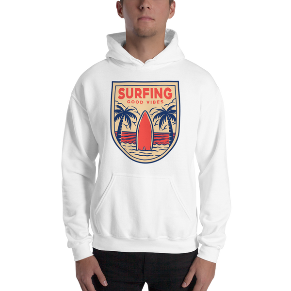Surfing Good Vibes Unisex Hoodie - House of BeYouTee