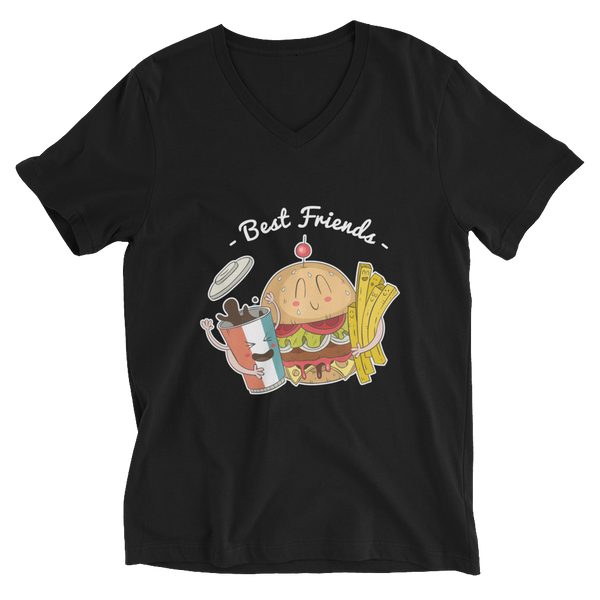 Best Friends V-Neck T-Shirt - House of BeYouTee