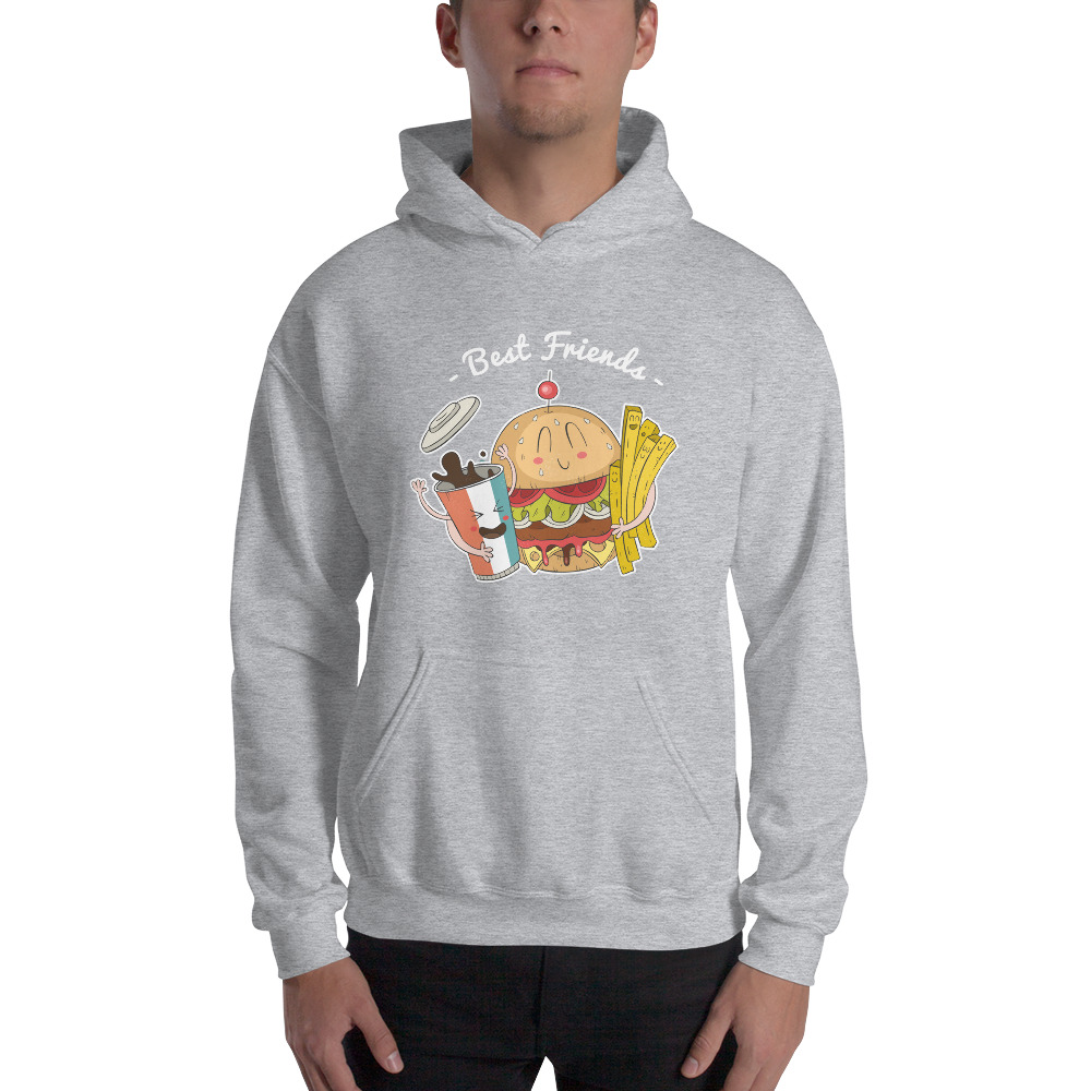 Best Friends Unisex Hoodie - House of BeYouTee