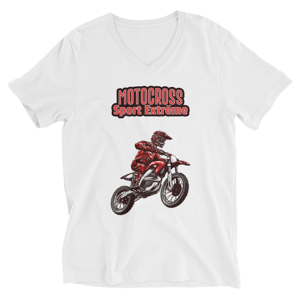 Motocross V-Neck T-Shirt - House of BeYouTee