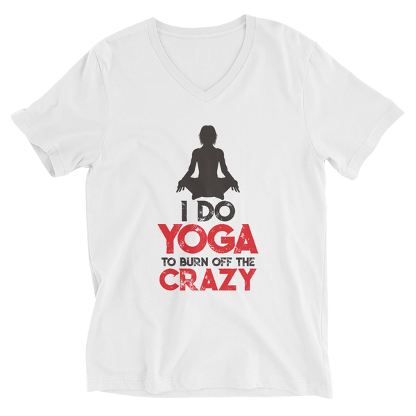 I Do Yoga V-Neck T-Shirt - House of BeYouTee