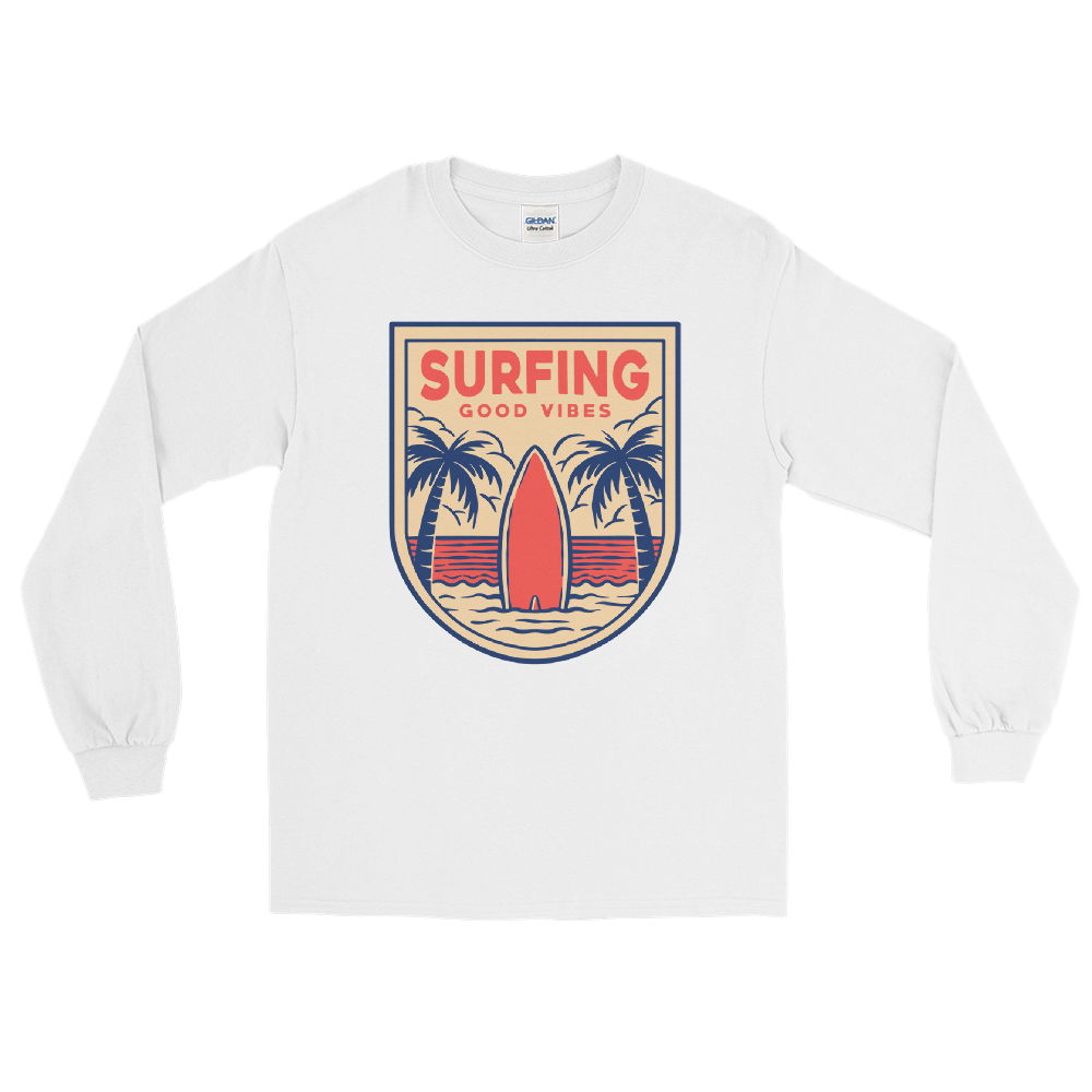 Surfing Good Vibes T-Shirt - House of BeYouTee