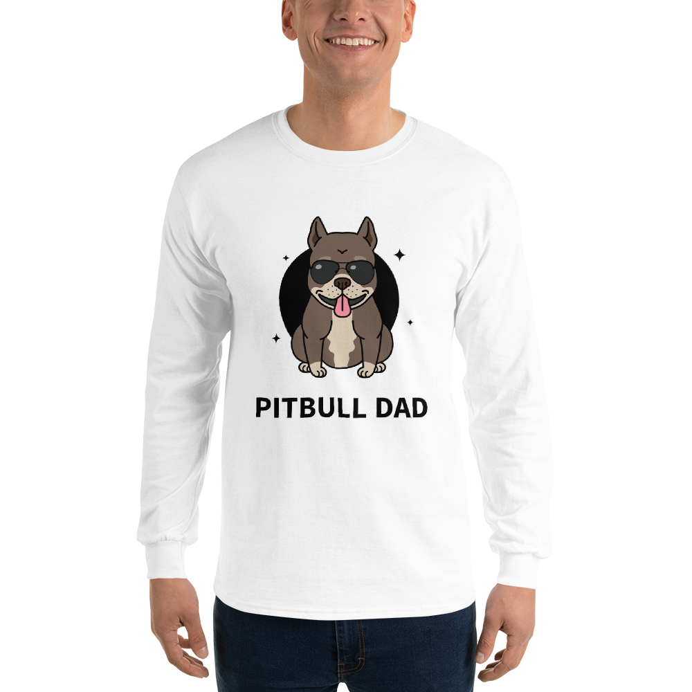 Pitbull Dad Men's T-shirt - House of BeYouTee