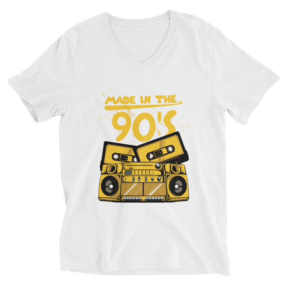 Made In The 90's V-Neck T-Shirt - House of BeYouTee