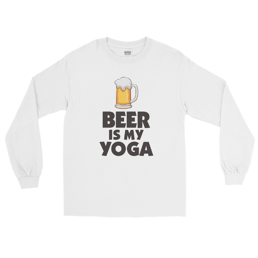 Beer Is My Yoga T-Shirt - House of BeYouTee