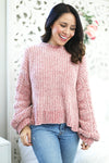 Camila Blush Pink Sweater