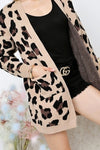 how to style a leopard print cardigan