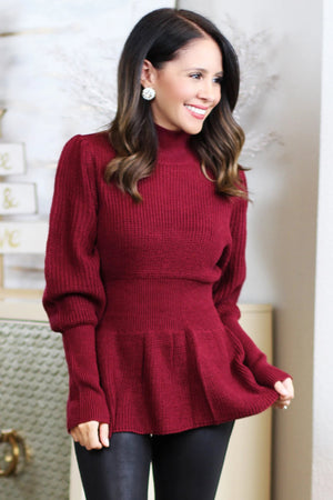 red sweater christmas outfit inspo