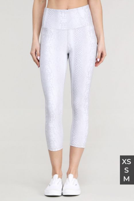snake print leggings activewear