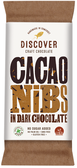 Cacao Nibs in Dark Chocolate