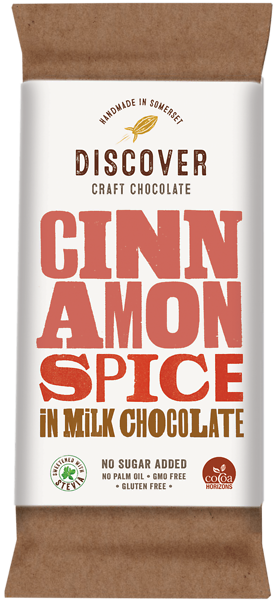 Cinnamon Spice in Milk Chocolate