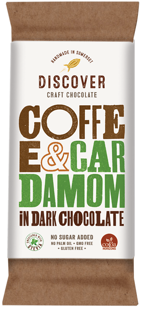 Coffee and Cardamom in Dark Chocolate