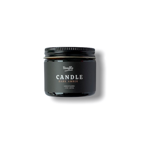 CANDLE - DARK AMBER - soufflegrooming