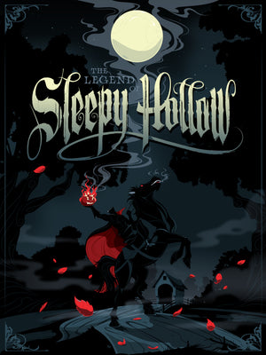 The Legend of Sleepy Hollow Giclee