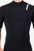 Premium Mens 2/2 Short Sleeve Chest Zip Steamer