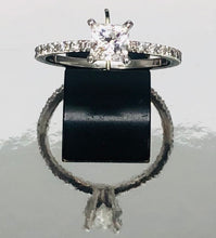 Load image into Gallery viewer, 0.74ct Seng Firey Princess™️ Cut Diamond Engagement Ring