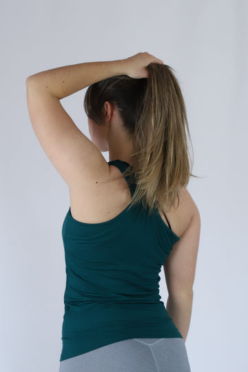Yoga-Top FINA Ivy Green