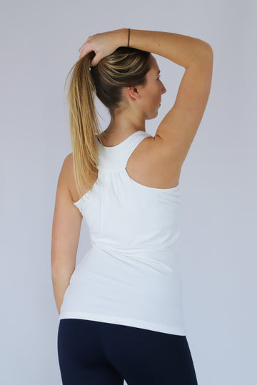 Yoga-Top FINA White