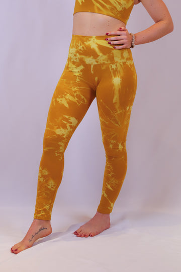 Yoga Leggings Indian Curry