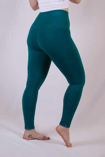 Yoga Leggings Dunkelgrün