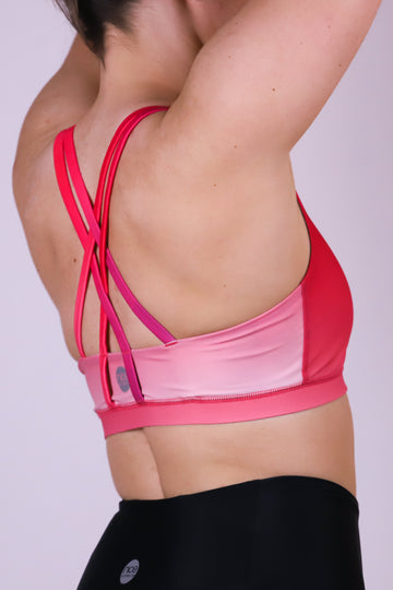 Flow Bra Gradient Pink