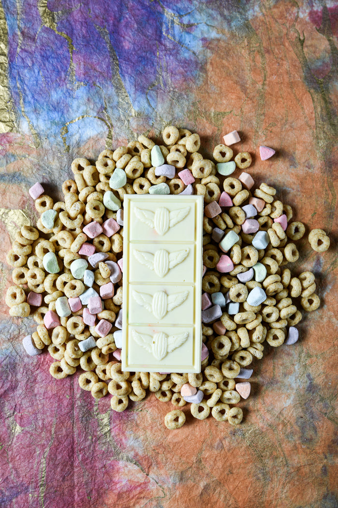 White Chocolate Cereal Bar