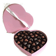 Valentines Day Sweet & Spicy  HEART Box of Love