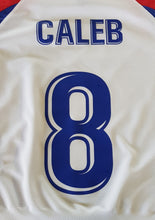 Load image into Gallery viewer, Printing - Name & Number Printed on Back of Shirt of Kits - gr8sportskits