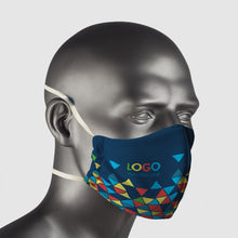 Load image into Gallery viewer, Mask Reusable Cloth branded in your full colour design - gr8sportskits