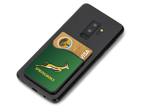 Springbok Arcade Phone Card Holder - gr8sportskits