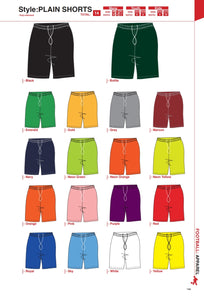 Shorts Plain - Soccer / Hockey (R60 each) - gr8sportskits