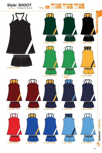 Netball / Hockey Shoot Dress Kit - gr8sportskits