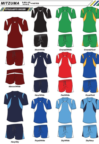 Soccer Kit Combo Basic Set - Portugal Ladies Style