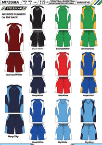 Hockey / Basketball / Volleyball / Astro Soccer Set Style Slam