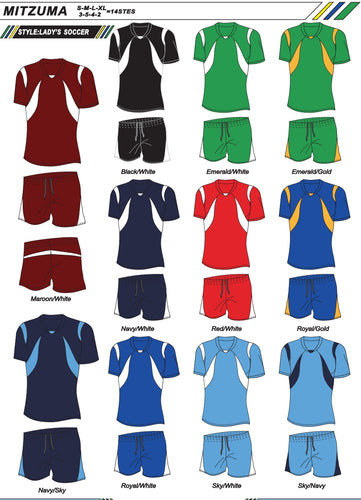 Soccer Kit Combo Basic Set - Ladies / Women's Portugal Style