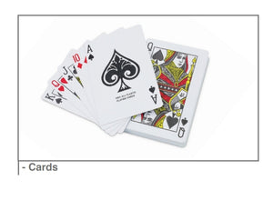 Playing Cards - Personalised Print on Back and Box