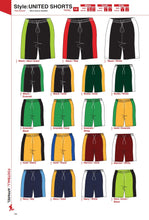 Load image into Gallery viewer, Shorts United Style - Soccer / Hockey (R60 each)