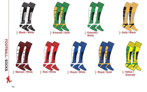 Socks Venom Mesh - Soccer / Hockey (R45 per pair each)
