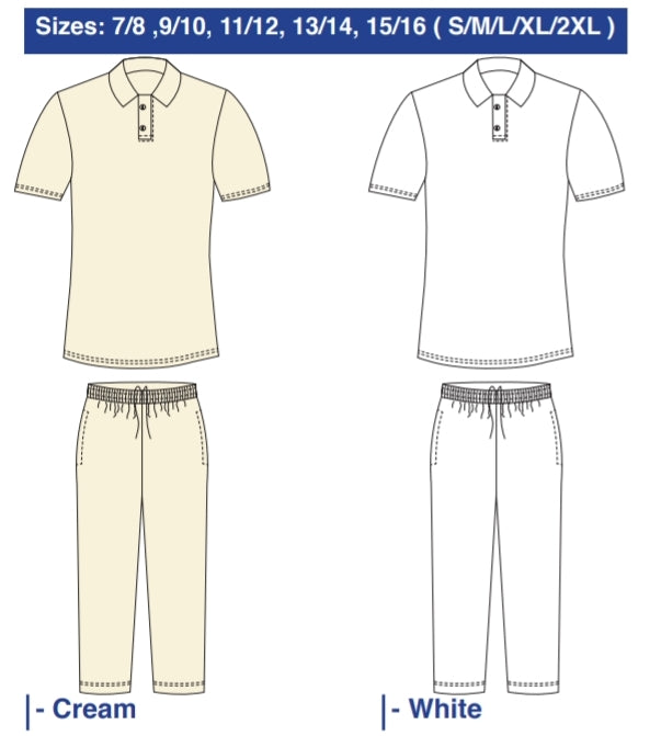 Cricket Shirt & Pants Set - gr8sportskits