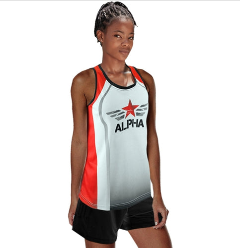 Running Vest Sublimated Sprint - gr8sportskits