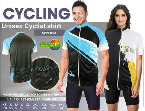 Cycling Shirt Sublimated - gr8sportskits