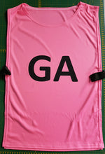 Load image into Gallery viewer, Bibs Netball GGBB01N - Set of 7 with positions on both sides - gr8sportskits